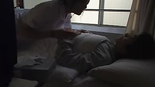 Hot kinky nurse shags her patient in the hospital bed