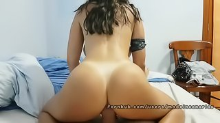 Mom is home, Lets do anal sex with my stepsister. Made in Canarias