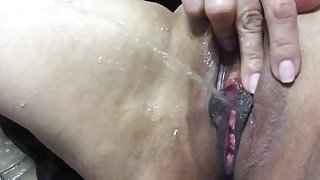 Latina pussy closeup squirt - more on www.viewcamgirls.com