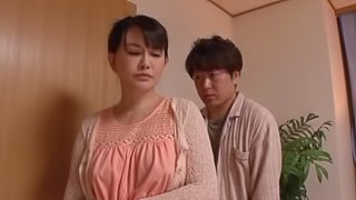Japanese babe gets toyed and Dp-ed in Mmf threesome