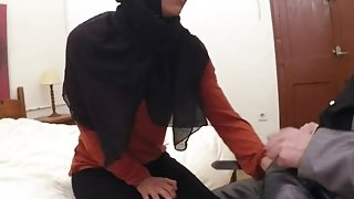 Horny mature arab and gorgeous dancing I