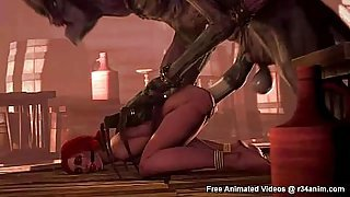 The Witcher SFM Animations Compilation (Rule 34)