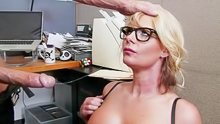 Business woman Phoenix Marie is a curvy slut who loves fucking with her employees. Passionate milf with huge tits and thick ass takes Johnny Sins dick eagerly. He loves her body and bangs her the way she loves it
