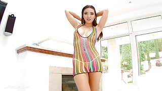 Creampie gonzo scene with Frida Sante from All Internal