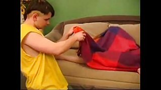 Russian SLeeping Sweety Moms Fuck Her Excited Son-213